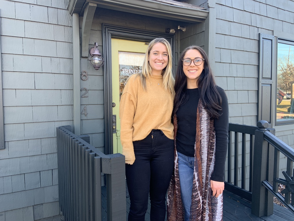 Peyton and Camille, TRINDGROUP Spring 2019 Interns