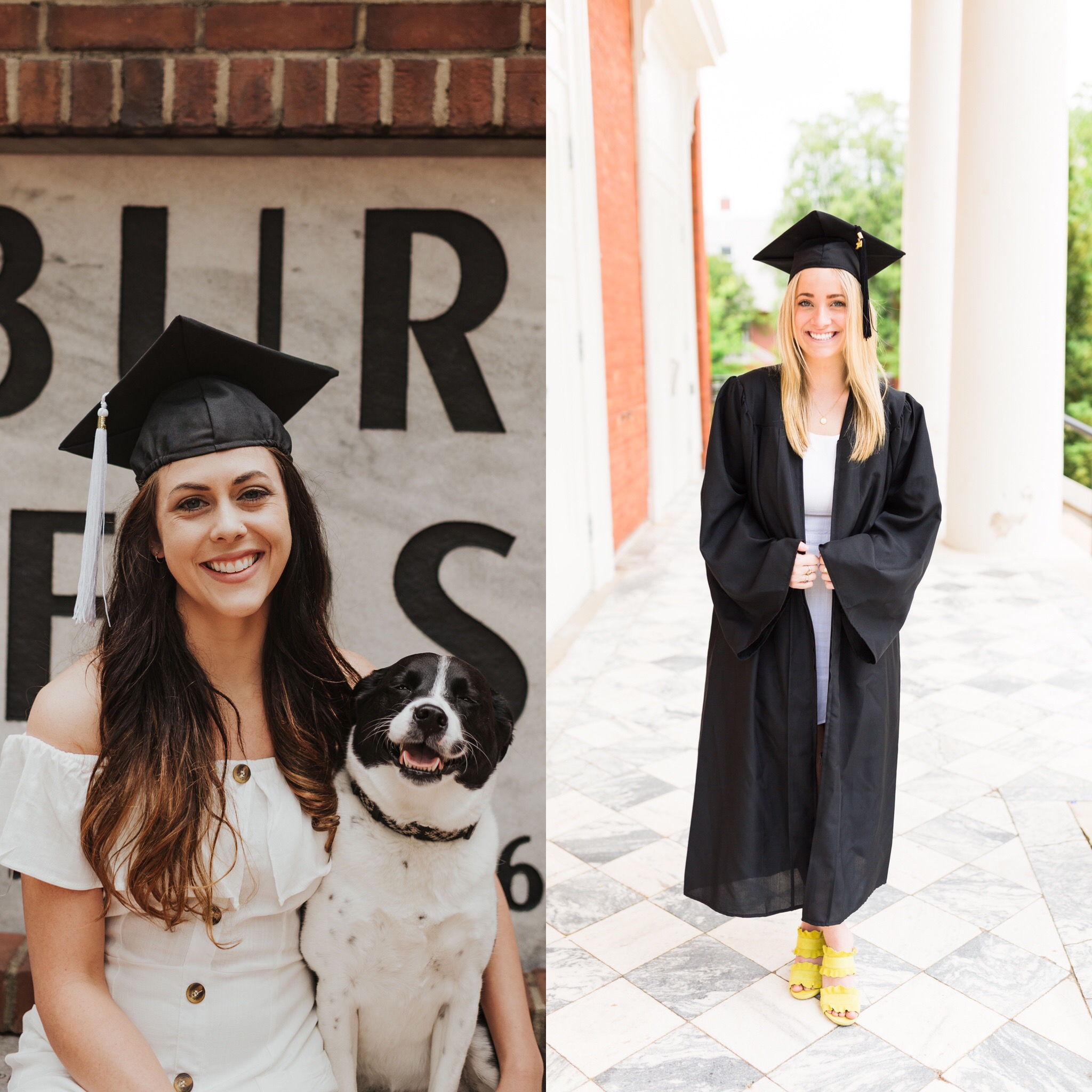Pictured are TRINDGROUP's spring 2019 interns in their caps and gowns for graduation from Auburn University.