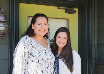 Pictured are TRINDGROUP's 2019 Summer Interns, Charlotte and Erin.