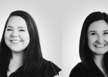 Pictured are TRINDGROUP's summer interns, Charlotte and Erin.