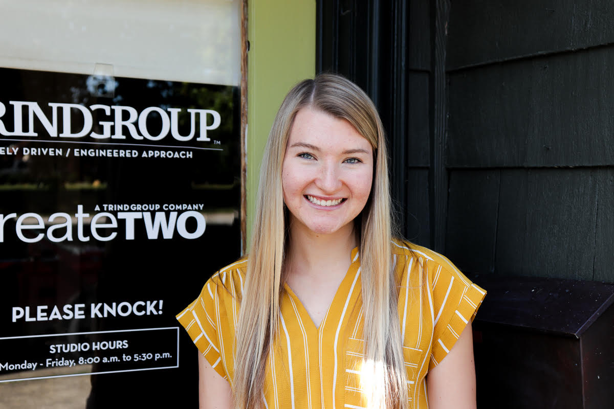 Pictured is TRINDGROUP intern Ella Chancellor.
